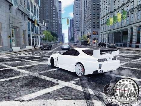 Toyota Supra Drift Setting for GTA 4 back left view