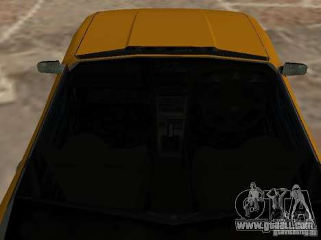 Elegy Of Convertible Tops for GTA San Andreas back view