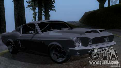 Shelby GT500 1969 for GTA San Andreas
