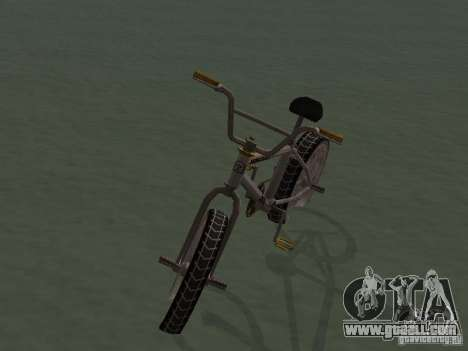 New Bmx for GTA San Andreas right view