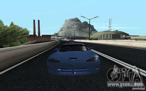 Dodge Viper GTS Monster Energy DRIFT for GTA San Andreas back left view