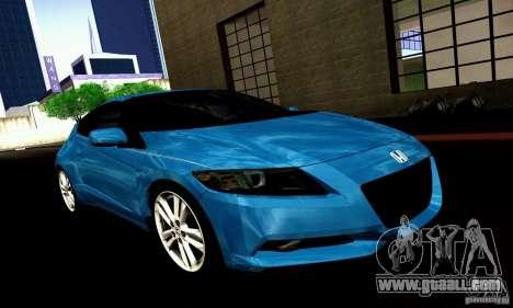 Honda CR-Z 2010 V2.0 for GTA San Andreas right view