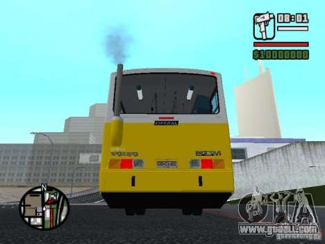 Ciferal GLS Volvo B10M for GTA San Andreas back left view