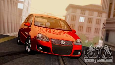 VW Golf V GTI 2006 for GTA San Andreas left view