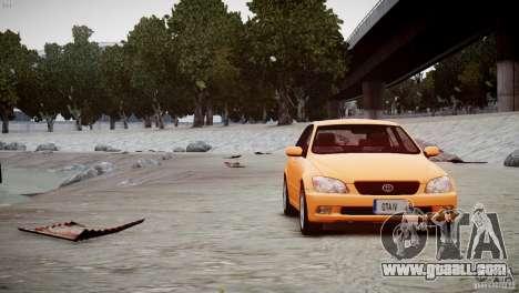 Toyota Altezza Gita Version 2 for GTA 4 right view