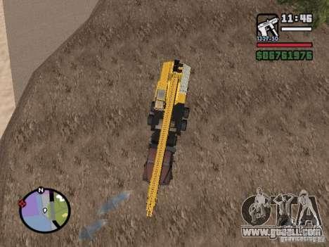 KrAZ-250 MKAT-40 for GTA San Andreas back left view