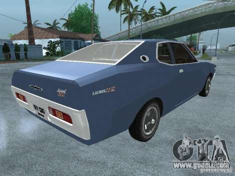 Nissan Laurel C130 for GTA San Andreas back left view