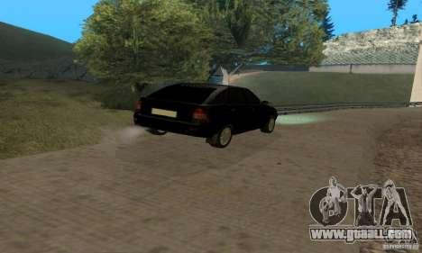 LADA priora van for GTA San Andreas inner view