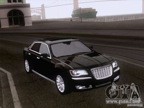 Chrysler 300 Limited 2013 for GTA San Andreas right view