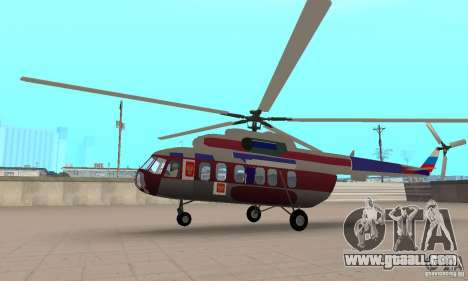 MI-17 civil (English) for GTA San Andreas