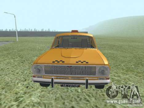 GAZ 24-01 Taxi for GTA San Andreas right view