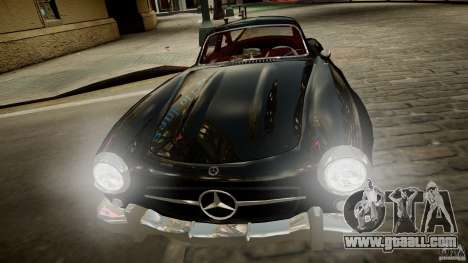 Mercedes-Benz 300 SL Gullwing for GTA 4 back view