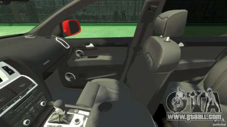 Audi Q7 v12 TDI for GTA 4 inner view