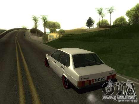 VAZ 21099 v. 2 for GTA San Andreas inner view