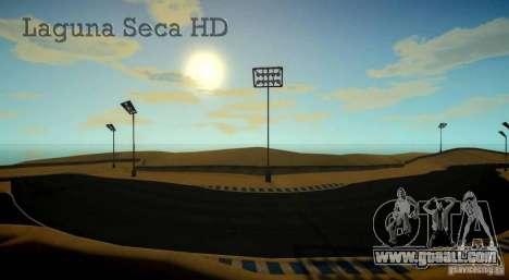 Laguna Seca [HD] Retexture for GTA 4