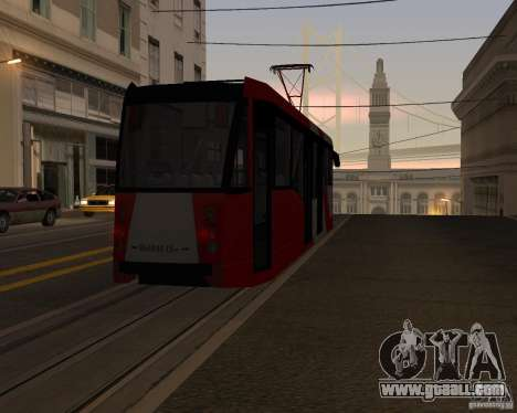 LM-2008 for GTA San Andreas bottom view