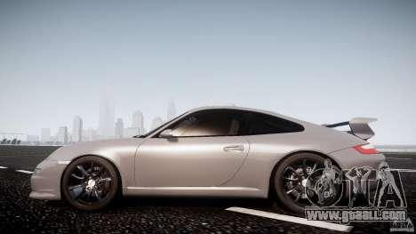 Porsche GT3 997 for GTA 4 back left view