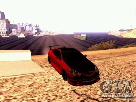 Acura RSX Drift for GTA San Andreas right view
