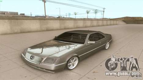 Mercedes Benz 600 SEC for GTA San Andreas