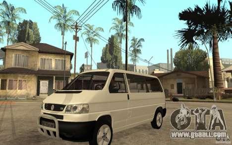 Volkswagen Transporter T4 for GTA San Andreas