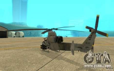 Cobra for GTA San Andreas right view