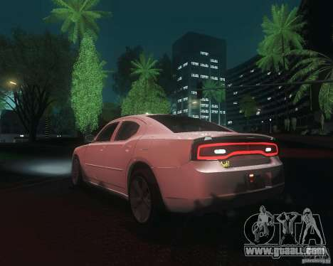 Dodge Charger 2011 for GTA San Andreas back left view
