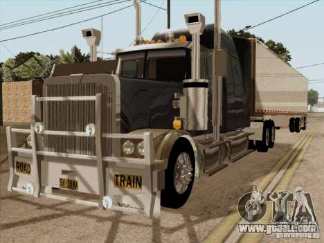 Western Star 4900 Aust for GTA San Andreas
