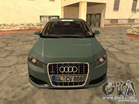 Audi S3 Sportback 2007 for GTA San Andreas left view
