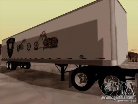 Hell Riders American for GTA San Andreas right view