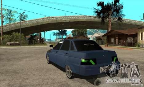 Vaz 2110 for GTA San Andreas back left view