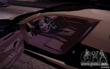 Bugatti Veyron Grand Sport Classic Final for GTA San Andreas back view