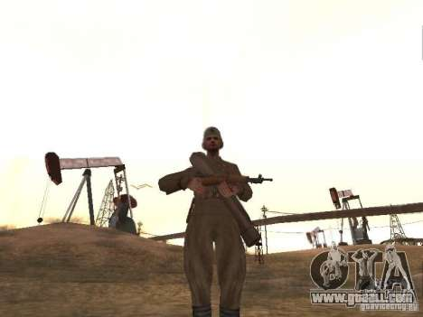 A Soviet soldier for GTA San Andreas second screenshot