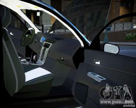 Volvo C30 2009 for GTA 4 upper view