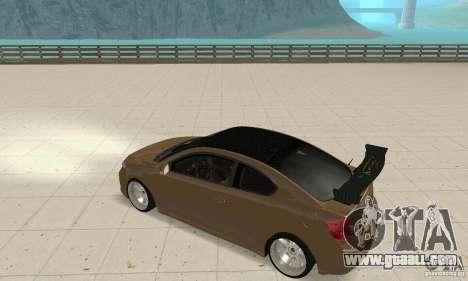 Toyota Scion tC Edited for GTA San Andreas right view