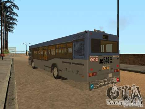 MAZ 103 for GTA San Andreas back left view