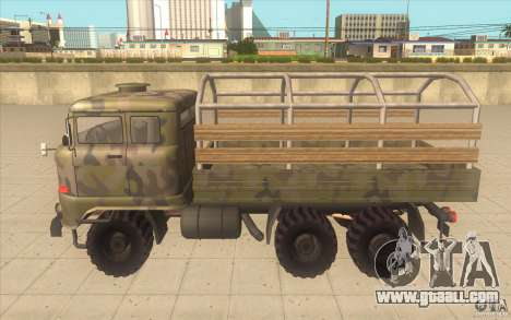 IFA 6x6 Army Truck for GTA San Andreas left view