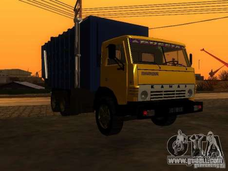 KAMAZ 53212 garbage truck for GTA San Andreas
