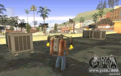 Jetpack in the style of the USSR for GTA San Andreas eighth screenshot