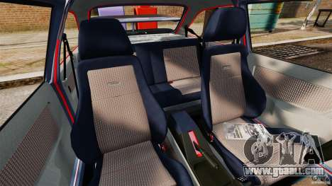 Ford Sierra RS500 Cosworth 1987 for GTA 4 inner view