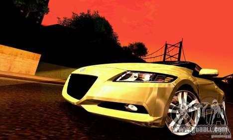 Honda CR-Z 2010 V2.0 for GTA San Andreas wheels