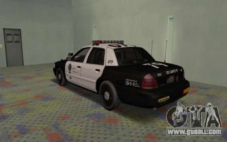 Ford Crown Victoria Police Interceptor LSPD for GTA San Andreas right view