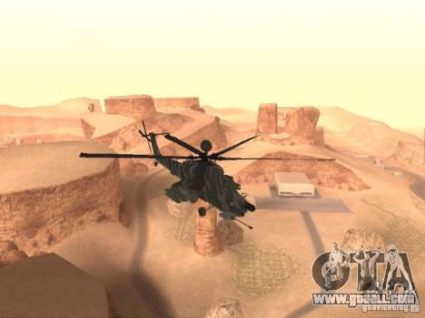 MI 28 Havok for GTA San Andreas