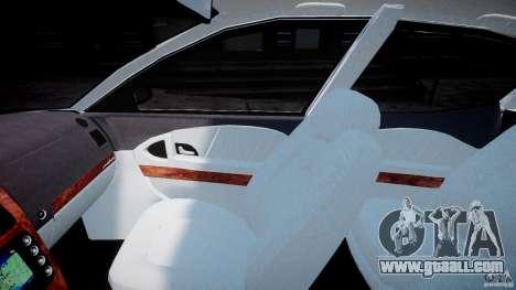 Maserati Quattroporte V for GTA 4 inner view
