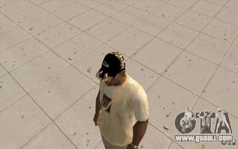 Cap jaguar for GTA San Andreas