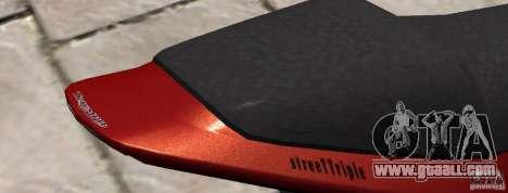 PCJ600 to Triumph StreeTTriple for GTA 4 back left view