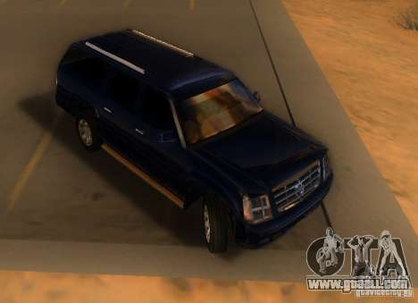 Cadillac Escalade ESV 2006 for GTA San Andreas left view