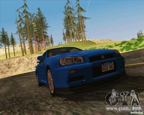 NFS The Run ENBSeries for SAMP for GTA San Andreas third screenshot
