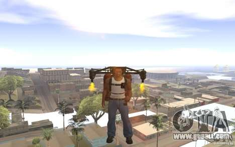 Jetpack in the style of the USSR for GTA San Andreas forth screenshot