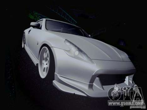 Nissan 370Z Fatlace for GTA San Andreas interior