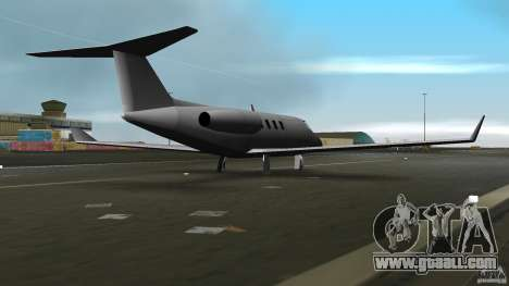 Shamal Plane for GTA Vice City right view
